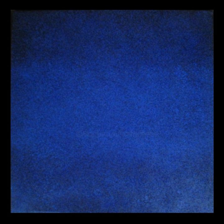 acrylique sur toile - summertime blue - Painting,  39.4x39.4 in, ©2013 by JEAN-YVES VERNE -                                                                                                                                                                                                                                                                                                                                                                                                                                                                                                                                                                                                                                                                                                                                                                                                                      Abstract, abstract-570, Light, Outer Space, Colors, Culture, art contemporain, peinture contemporaine, peinture, acrylique sur toile, abstrait, non figuratif, bleu, blue, carré, canvas painting, verne