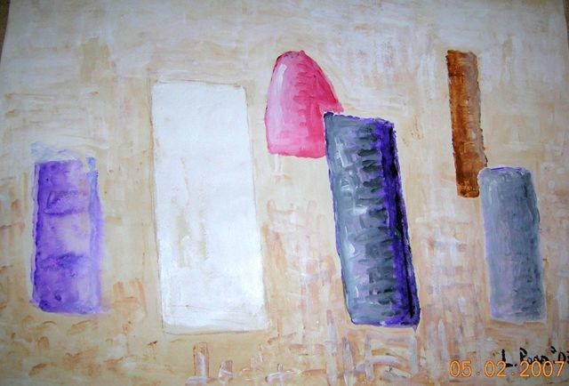 Mostra_3 - Painting ©2007 by Laura Parrinello -