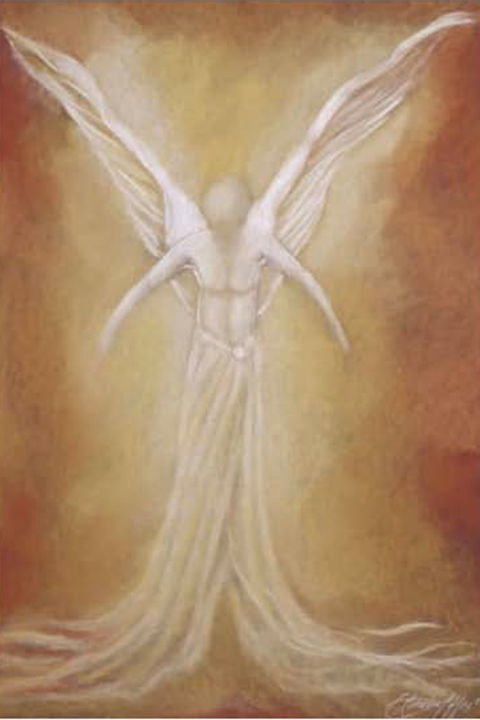 """Painting titled """"guardian-of-the-sou…"""" by Lorraine Coffey, Original Art, Pastel"""