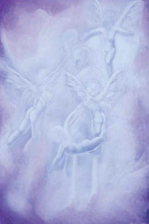 """Painting titled """"Holiness"""" by Lorraine Coffey, Original Art, Pastel"""