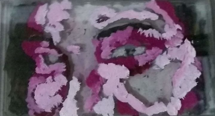 """Painting titled """"sem titulo"""" by Lorrany Dutra, Original Art, Oil"""