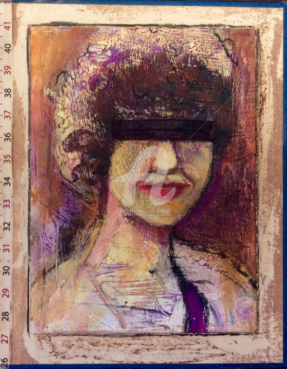 #3 Lady Justice - Mixed Media ©2015 by Lori Solymosi -