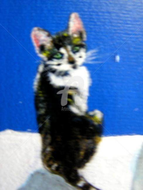 Le chat - © 2010 Chat, animalier Online Artworks