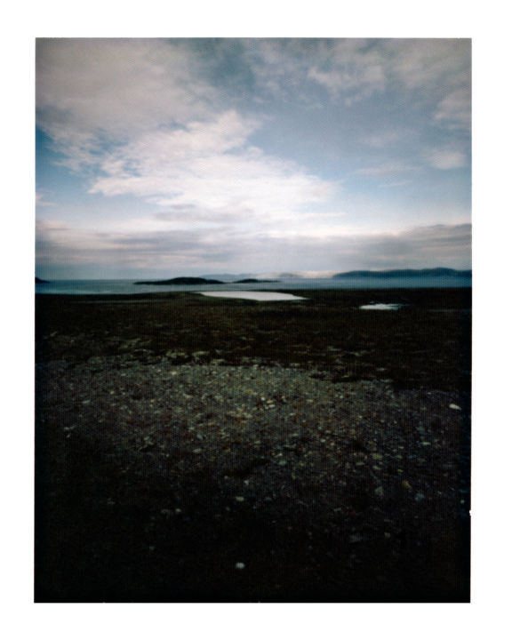 norway - E69 - porsangerfjord #03 - Photography,  50x40 cm ©2014 by Luca Baldassari -                                                                Places, Nature, Landscape, Travel, norway, E69, porsangerfjord, fiordo, fiord, norvegia, pinhole, foro stenopeico