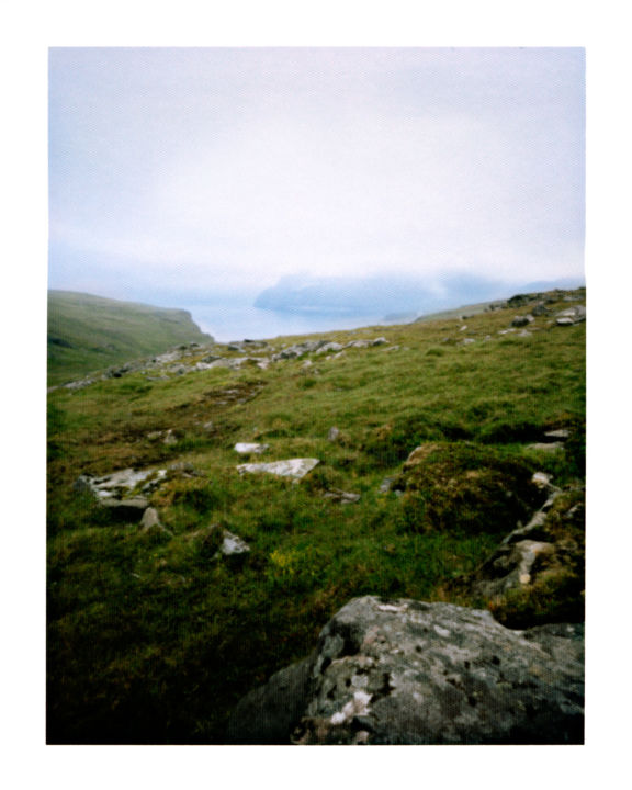 norway - nordkapp #01 - Photography,  40x50 cm ©2014 by Luca Baldassari -                                                                Places, Nature, Landscape, Travel, norway, nordkapp, capo nord, nuvole, clouds, norvegia, pinhole, foro stenopeico