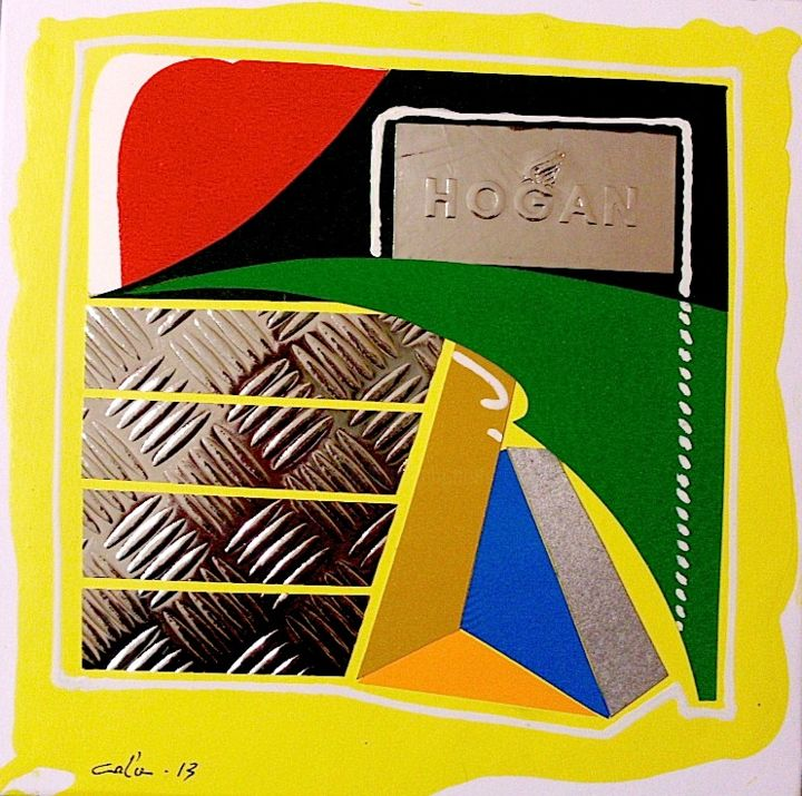 frame-k3 - Painting, ©2014 by Luigi Cola -                                                              chicca cola