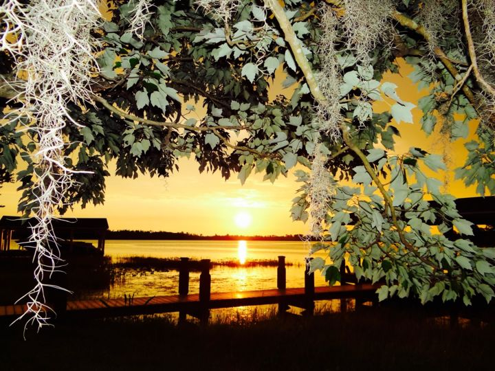 """Photography titled """"A SUNSET THROUGH TH…"""" by Lupe Rocha, Original Art,"""