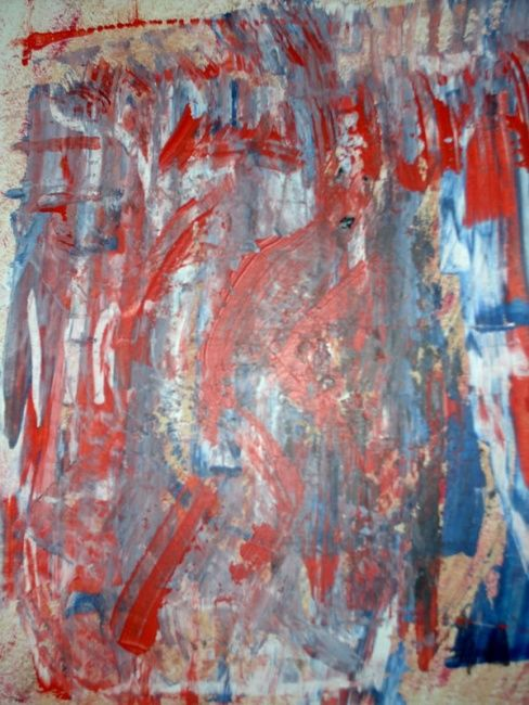 """Painting titled """"fear"""" by Lyhne, Original Art, Oil"""