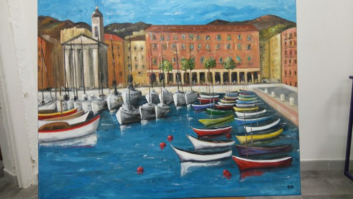 le port de Nice - ©   Online Artworks