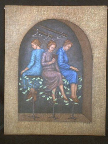 """Painting titled """"Three Quarter Time"""" by Lynette Vought, Original Art,"""
