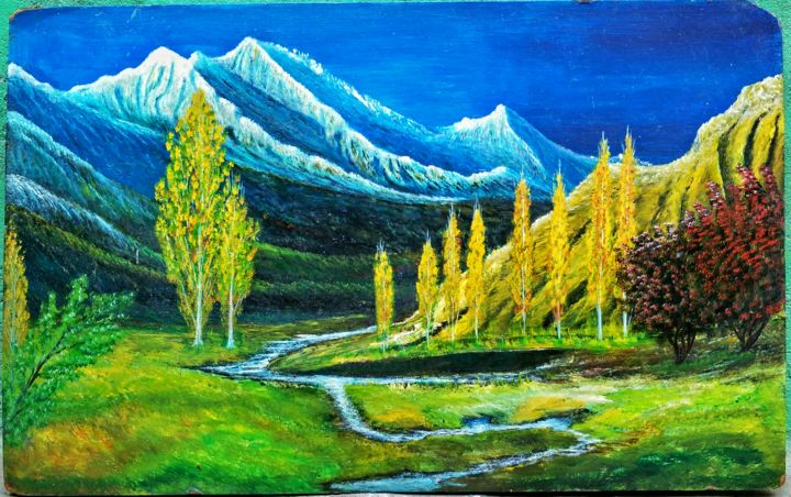 """Painting titled """"painting.jpg"""" by M Mohsin Mughal, Original Art, Other"""