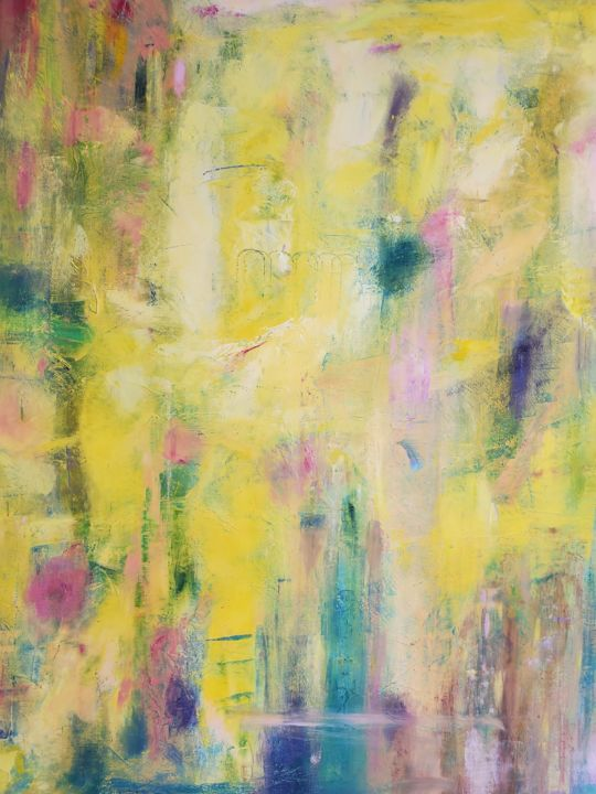 """Painting titled """"Sunshine in Your Sm…"""" by Maryia Skarakhod, Original Art, Oil"""