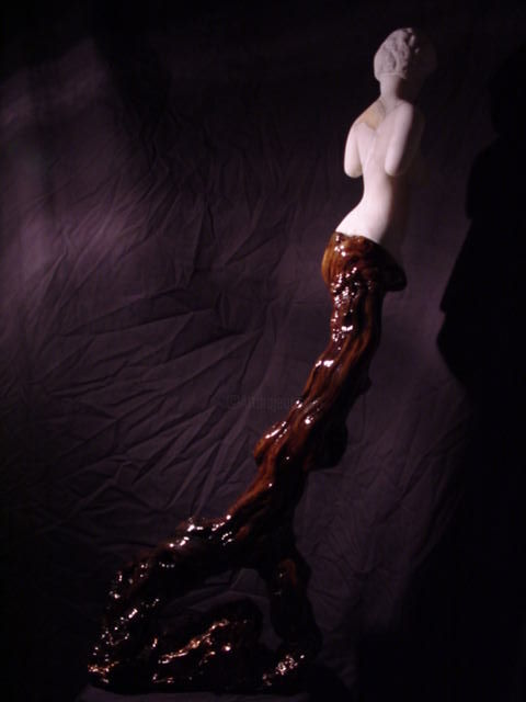 """Sculpture titled """"Daphne"""" by Doctor Madapeproductions, Original Art, Stone"""