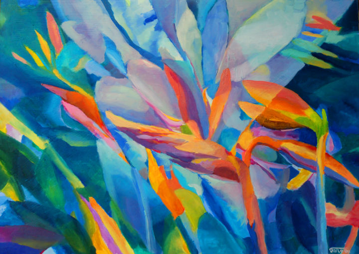 Beautiful Flower Painting Abstract Flowers Kwiaty Magdalena Walulik