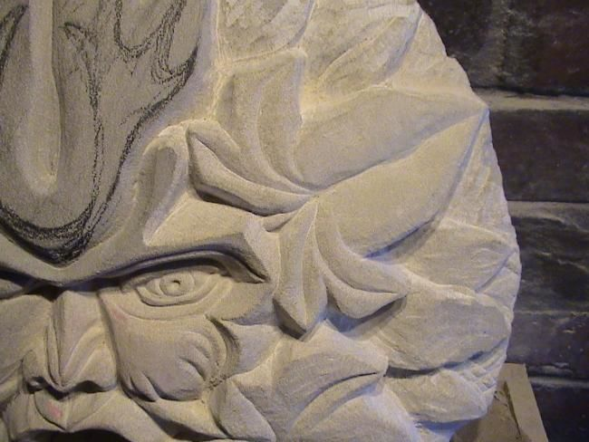 """Sculpture titled """"Man of the Forest (…"""" by Man Of Stone, Original Art,"""