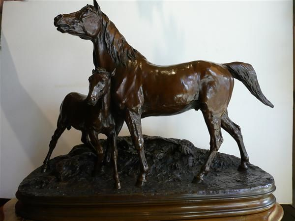 Bronze - Painting, ©1900 by Marc Samama -