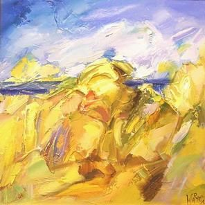 """Painting titled """"Autumn"""" by Marchell Yameliev, Original Art,"""