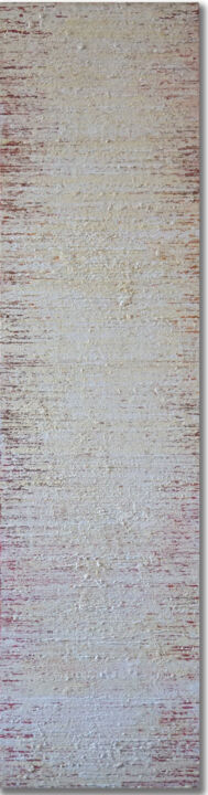 """Painting titled """"INTERFERENZA SU ROS…"""" by Marco Ramassotto, Original Art, Acrylic Mounted on Wood Panel"""