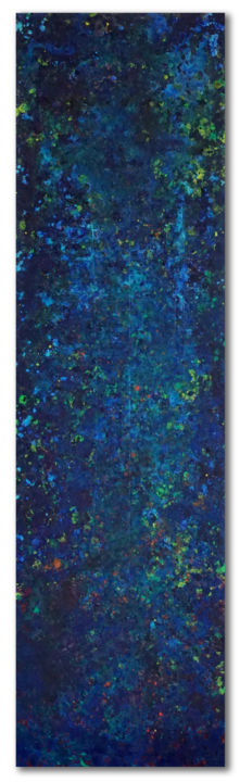 """Painting titled """"ATLANTE 1"""" by Marco Ramassotto, Original Art, Acrylic"""