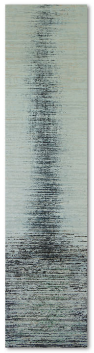 """Painting titled """"INTERFERENZA SU NER…"""" by Marco Ramassotto, Original Art, Acrylic Mounted on Wood Panel"""