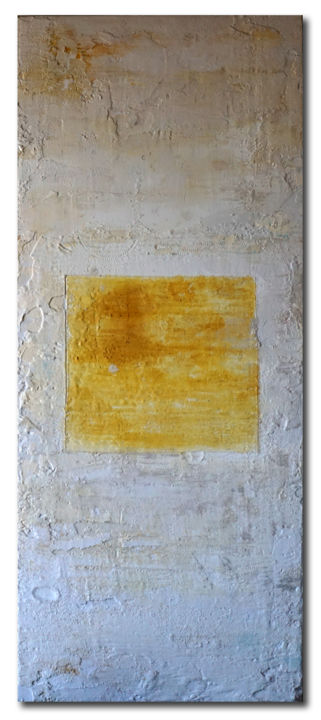 """Painting titled """"MESSA A FUOCO 1"""" by Marco Ramassotto, Original Art, Acrylic Mounted on Wood Panel"""