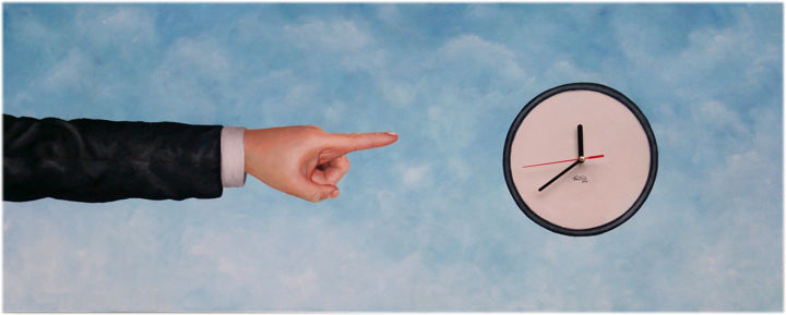 Temporal psychology - Painting,  15.8x39.4x1.4 in, ©2014 by Marco Santos -                                                                                                                                                                                                                                                                                                                                                                                                                                                                                                                                                                                                                                                                                                                              Surrealism, surrealism-627, Time, Culture, World Culture, tempo, tiempo, time, culpa, guilt, stress, actualidade, actualidad, present, marco santos