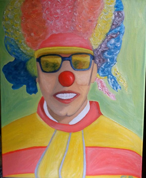 """Painting titled """"I colori"""" by Moises, Original Art, Oil"""