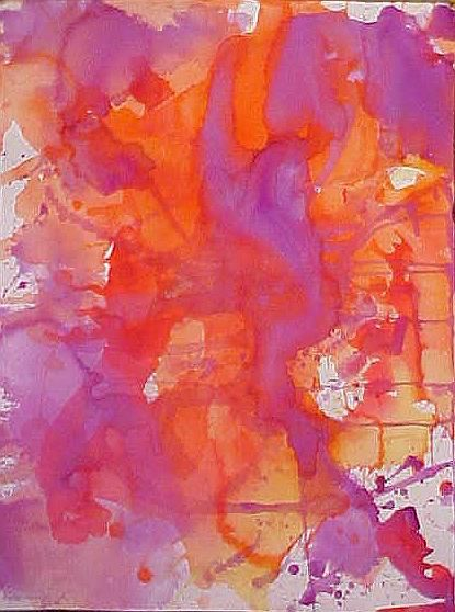 """Painting titled """"Untitled"""" by Paul Marco, Original Art, Watercolor"""