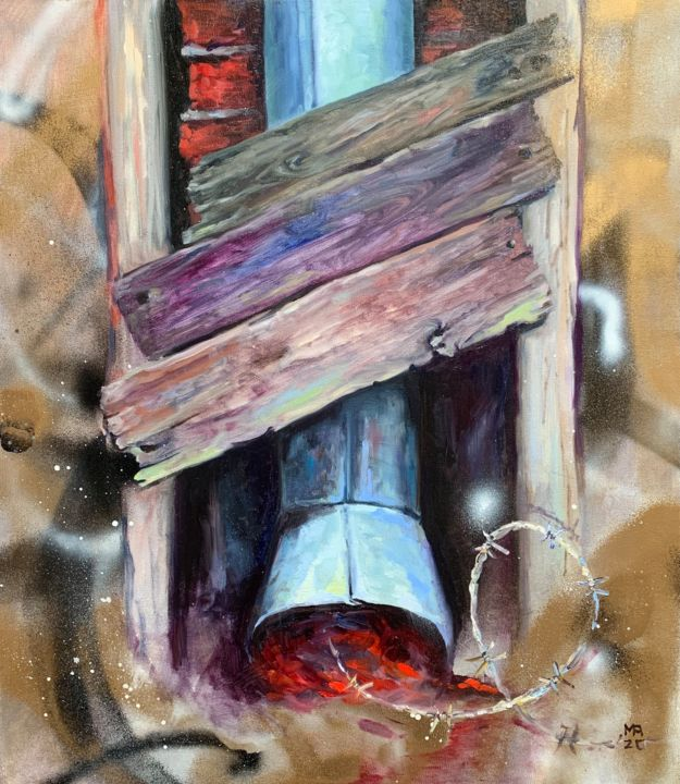 """Painting titled """"Inconvenient opinion"""" by Margarita Ado, Original Art, Oil"""