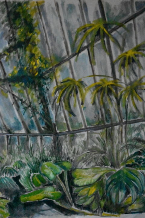 """Painting titled """"Diluvio in serra"""" by Ludo, Original Art, Oil"""