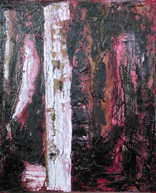 effets - Painting,  46x38 cm ©2007 by Mpb -