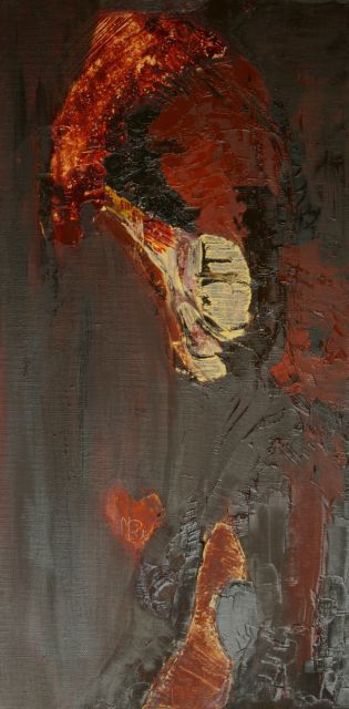 afrique 1 - Painting ©2008 by Mpb -