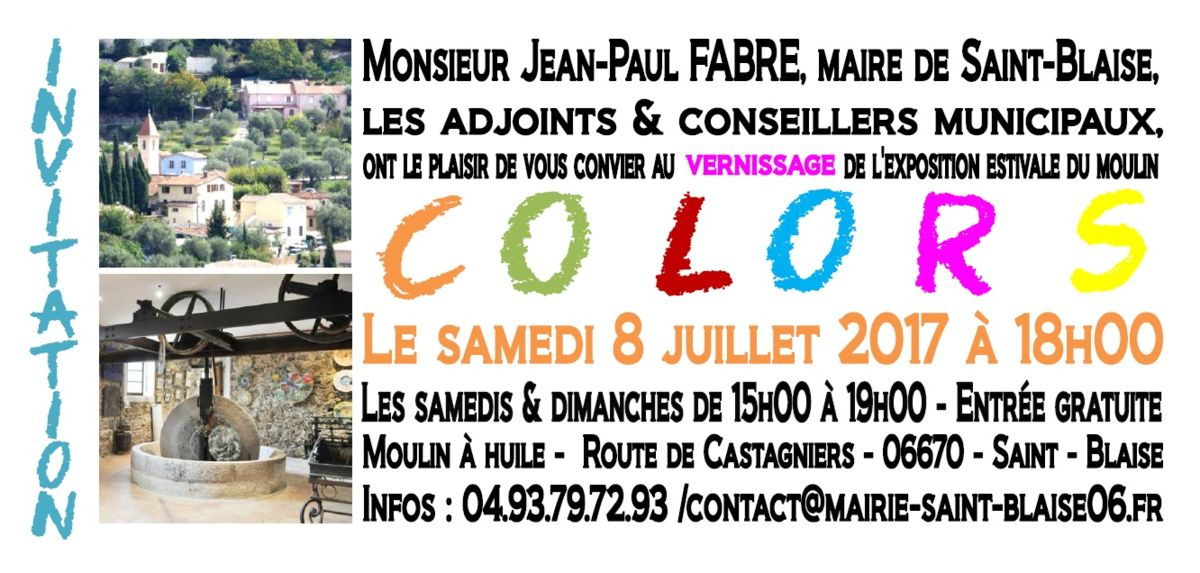 "carton-verso.jpg Expo ""Colors"" au village de Saint Blaise"