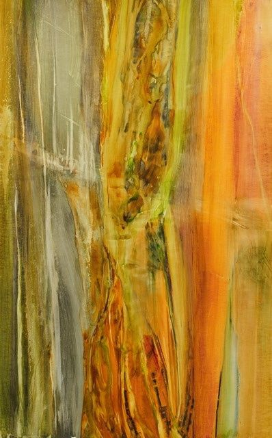 Imaginaire - Painting, ©2011 by MARIE PERROTTET -