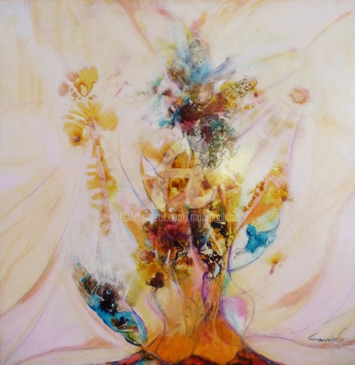 Painting, artwork by Marie Laplace