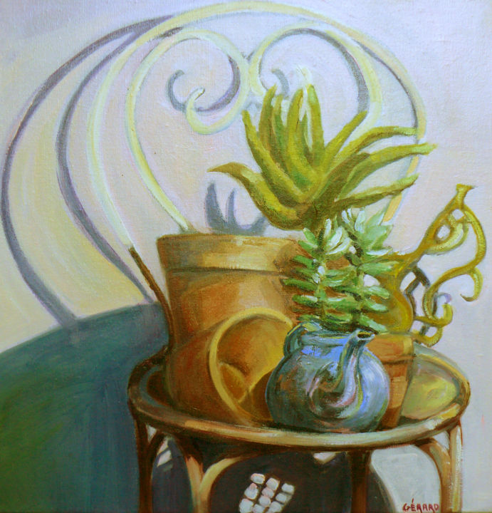pot - Painting, ©2016 by Gerard -