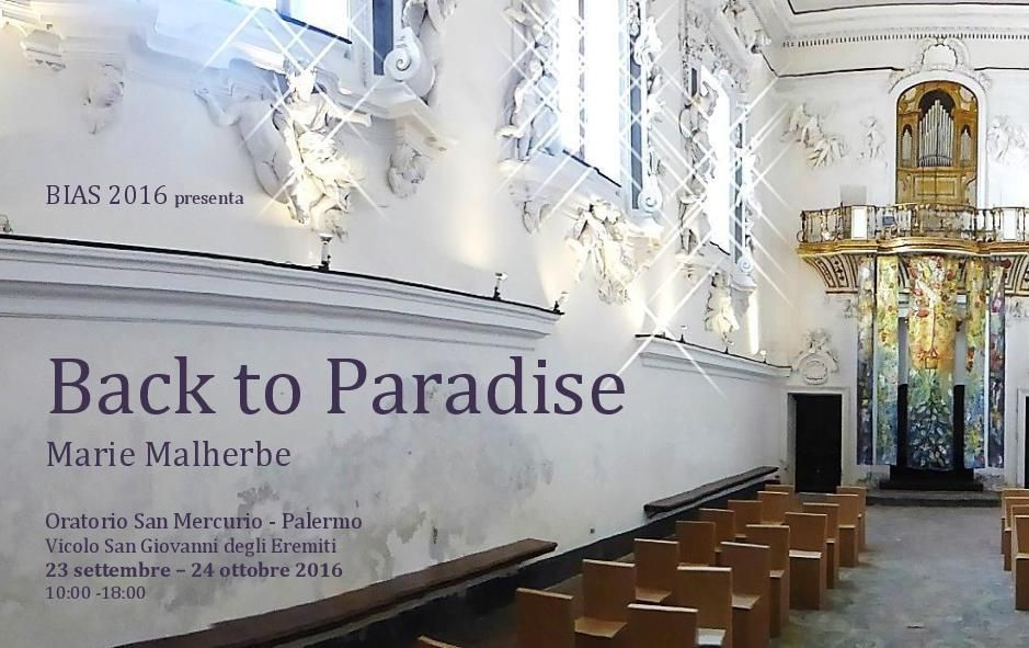 """Back to Paradise"" and other works presented by BIAS 2016 in Palermo"