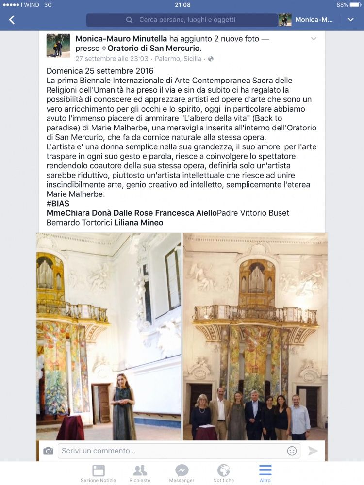 Article by Monica Minutella, Association Friends of Sicilian Museums, September 26th 2016