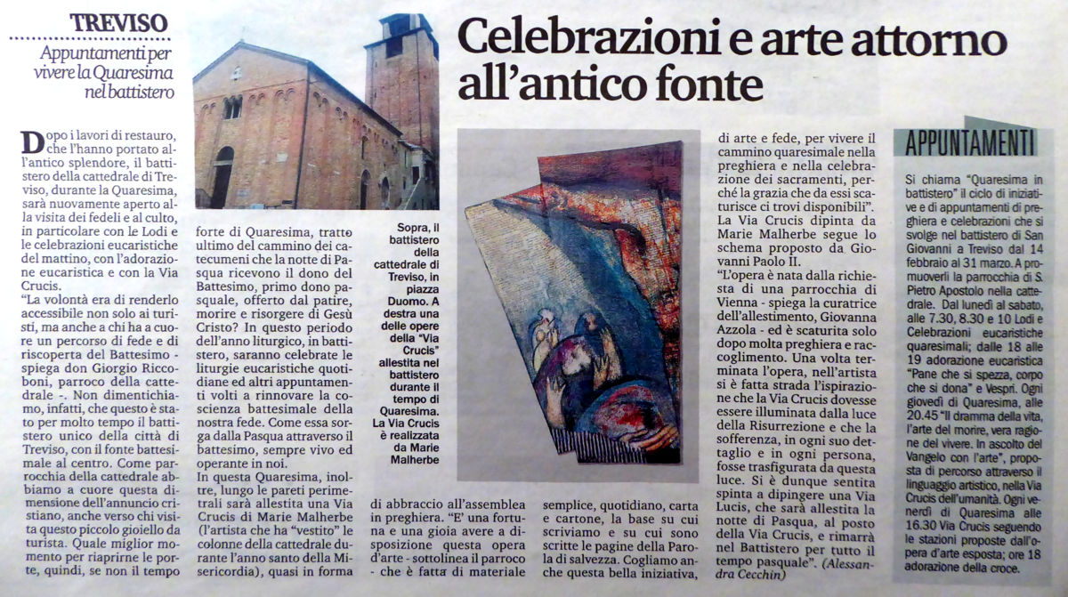 Art & Celebration around the Ancient Baptismal Font""