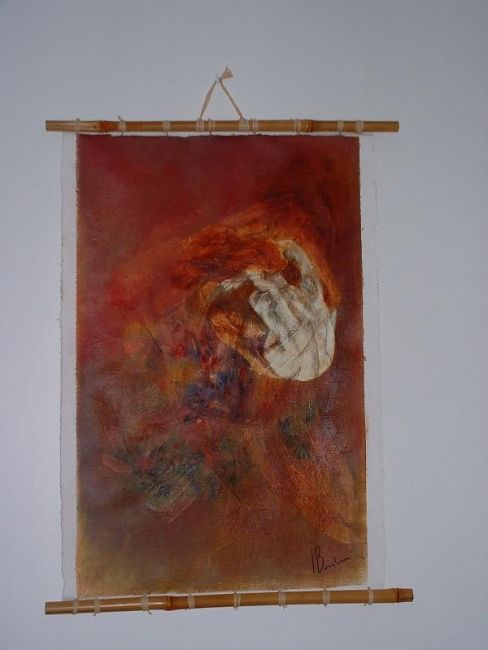 danaide - Painting,  0.2x0.2 in, ©2005 by Isabelle Bonebeau -