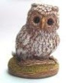 """Sculpture titled """"Baby Owl - All Alon…"""" by Mark Elson Studio'S, Original Art, Casting"""