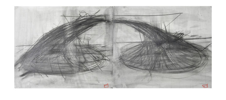 """Drawing titled """"genesis"""" by Marko Vuckovic, Original Art, Other"""