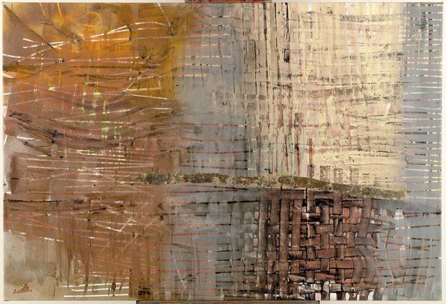 """Painting titled """"Abstract Peace of M…"""" by Marlen Ferrer, Original Art, Oil"""