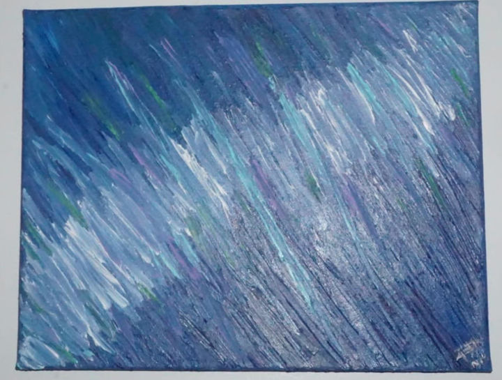 """Painting titled """"Aurora"""" by Perales Marlet, Original Art, Acrylic"""