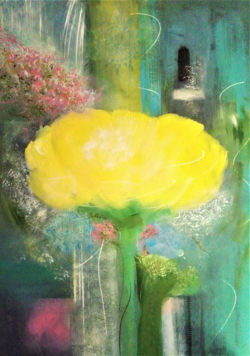 """Painting titled """"Indescribable by yo…"""" by Tinkabenka, Original Art, Acrylic"""