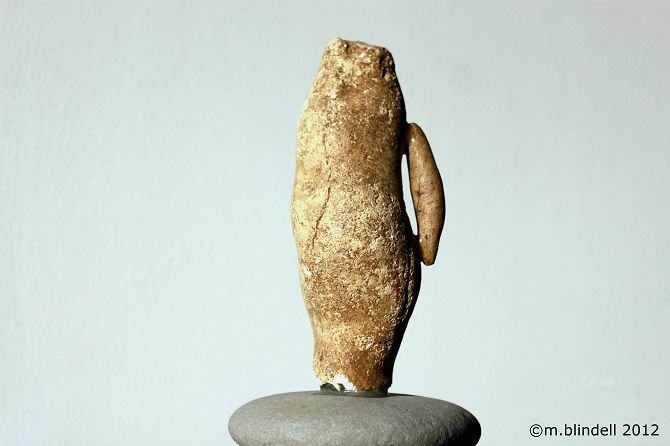 """Sculpture titled """"The Presence of You…"""" by Martin Blindell, Original Art, Stone"""