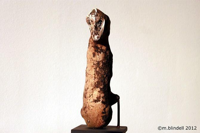 """Sculpture titled """"the Absence of Youth"""" by Martin Blindell, Original Art, Stone"""