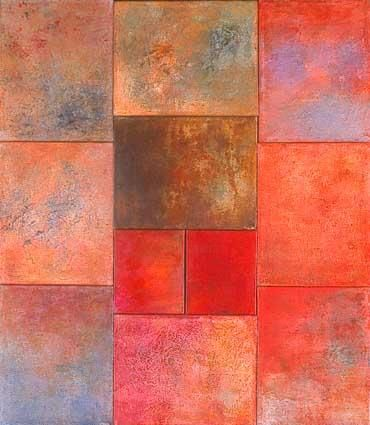 morceaux d'espaces XXII - Painting ©2003 by Martine Jardel -                        Contemporary painting