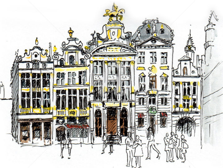 Bruxelles 4 - ©  Bruxelles, Anne-Marie Mary Online Artworks
