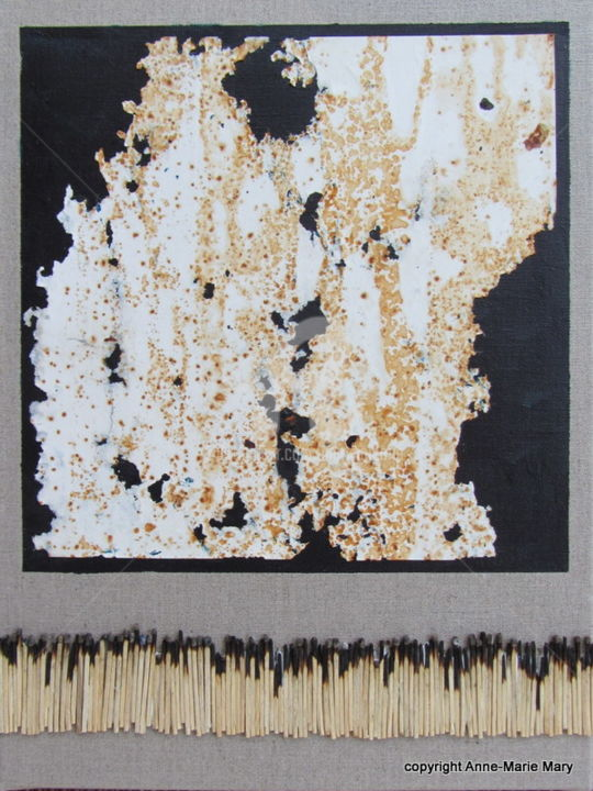 MT n°55 - Mixed Media,  40x30 cm ©2017 by Anne-Marie Mary -